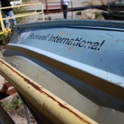 Rockwell-International-boat-2-at-SSFL-pond-by-William-Preston-Bowling-2012