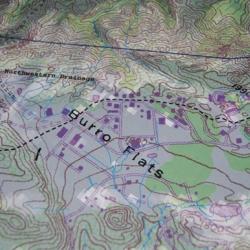 Area IV drainage divide
