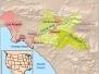 Aerojet Chino Hills Open Burn/Open Detonation Maps and Layout