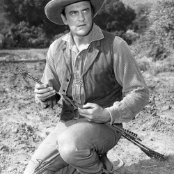 James Arness in Gunsmoke 1956