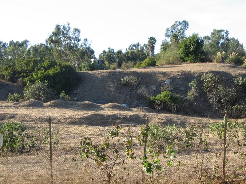 Mysterious mounds in West LA VA nuke dump 2006