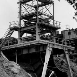 Canyon Test Stand ConstructionSanta Susana Field Laboratory (SSFL) - 1953