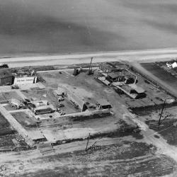 NAA LAX Parking Lot Test Area Aerial View - 1947