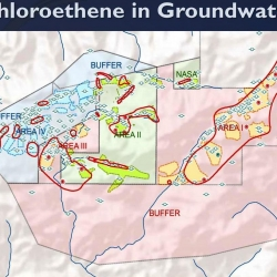 4-12-16 SSFL Trichloroethene in Groundwater MAP