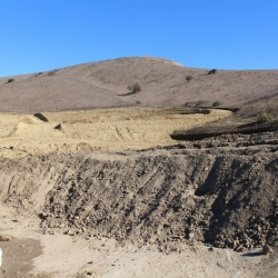 Runkle Canyon land grading Dec 14 2013