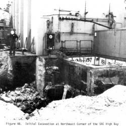 14._SRE_initial_excavation_of_northeast_corner_of_high_bay