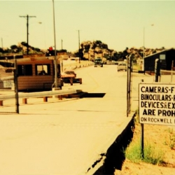 Post_505_The_Entrance_Guard_Gate_off_Woolsey_Black_Canyon_in_1993