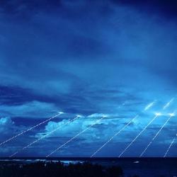 Testing_the_PEACEKEEPER_at_Kwajalein_Atol