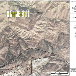 2007-2011 Brandeis Bardin OS-10 well with high radiation MAP