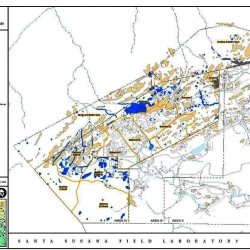 2010 DOE SSFL Area IV & Brandeis-Bardin AOC Radiological Preliminary Remediation Areas MAP