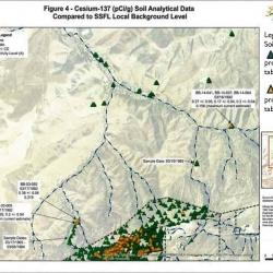 4-12-16 DTSC SSFL Area IV Brandeis Bardin Cesium 137 MAP