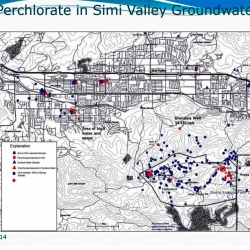 5-21-14 DTSC LARWQCB SSFL Perchlorate in Simi Valley Groundwater MAP