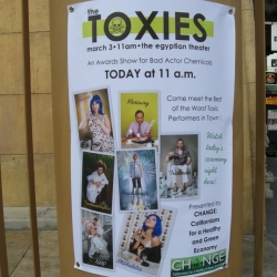 The First Annual Toxies Award