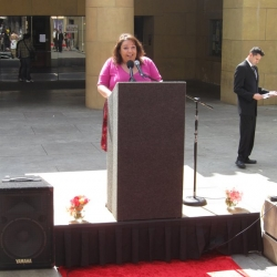 PSR-LA Executive Director Martha Dina Arguello brings the message home - it's time to retire Bad Actor Chemicals in California