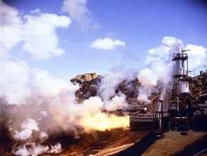 30,000 rocket tests have left the Santa Susana Field Laboratory polluted with chemicals. Radiation remains from dumping, burning and partial meltdowns in 1959 and 1964