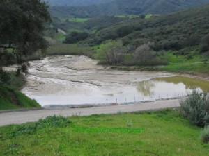 Runkle Canyon, a river runs through it, sometimes, and ends up in the Arroyo Simi