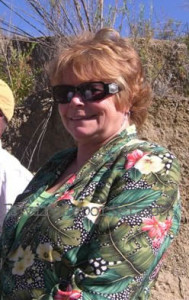 Then Simi Valley Councilmember Barbra Williamson in Runkle Canyon 2007