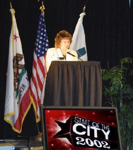 Calabasas Mayor Janice Lee 2002