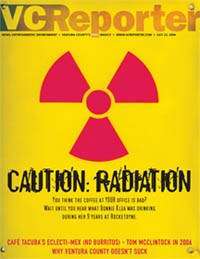 Caution Radiation - VC Reporter cover