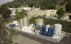 Dirty water cleaned at Jet Propulsion Laboratory