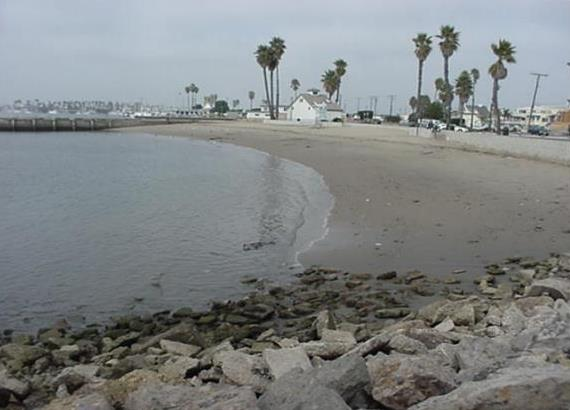 Kiddie Beach in Channel Islands Harbor -  photo by Los Angeles Regional Water Quality Control Board