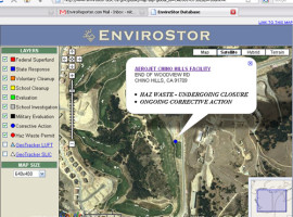 Does DTSC know where Aerojet Chino Hills is?