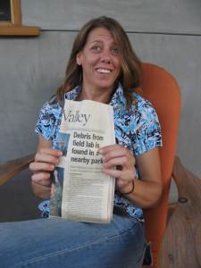 Christina Walsh making headlines