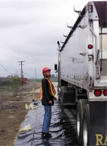 How it's done at Aerojet Chino Hills - DTSC inspects outbound trucks