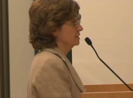 Mary Wiesbrock addressing Simi Valley City Council about Runkle Canyon contamination.