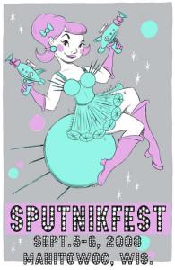 Sputnikfest Girl by Tina Kugler