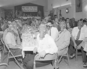 1954 Optimist Club banquet in Los Angeles