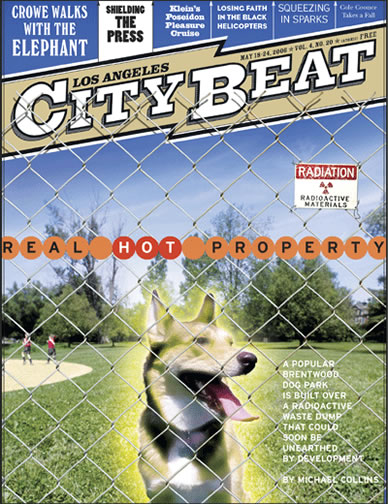 2006 Los Angeles CityBeat cover story Real Hot Property