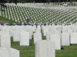 Los Angeles National Cemetery – December 8, 2009