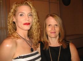 Dynamos Denise Duffield and Jill Stewart