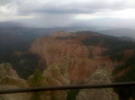 Bryce Canyon's radioactive rains Sept. 12, 2011