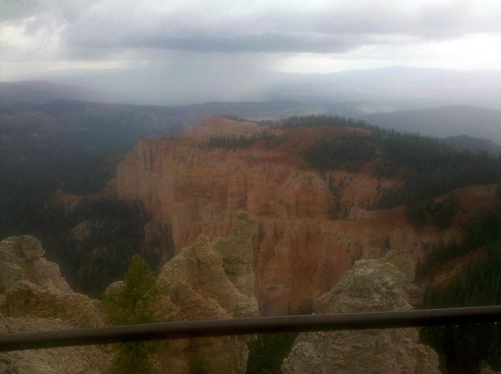 Bryce Canyon Radioactive Rain - September 12, 2011