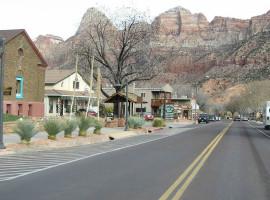 Springdale Utah - gateway to Zion National Park