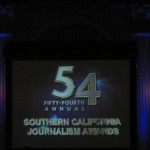 EnviroReporter Best 2011 Online News Organization Website at 2012 LA Press Club Gala