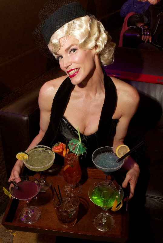 Fracking Chemical Cocktail serves up radium in her toxic drinks