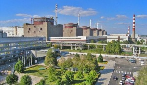 Zaporizhzhya Nuclear Plant close up