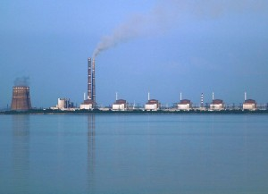 Zaporizhzhya Nuclear Plant in Ukraine