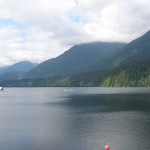 Capilano Lake is a resevoir for Vancouver and was tested for tritium by Team EnviroReporter.