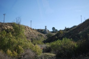 ALFA Rocket Engine Test Stand at LA River headwaters by William Preston Bowling