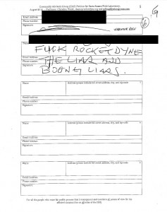 DTSC accepted this as unhappy petition signer as valid  for the newly-approved Boeing CAG.
