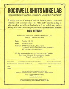 RCC celebrates closing of Rockwell nuclear lab