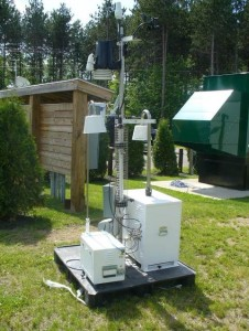 EPA RadNet unit can detect gamma and beta radiation