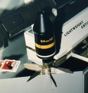 AT-4 High Explosive Dual Purpose projectile