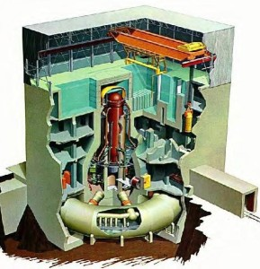 BWR Mark I Containment cutaway