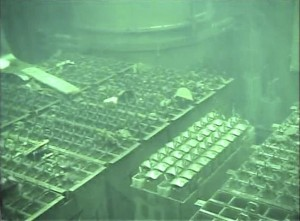 Spent Fuel Pool of Fukushima Unit 4 nuclear reactor