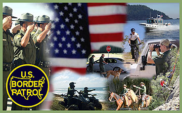 U.S. Border Patrol banner